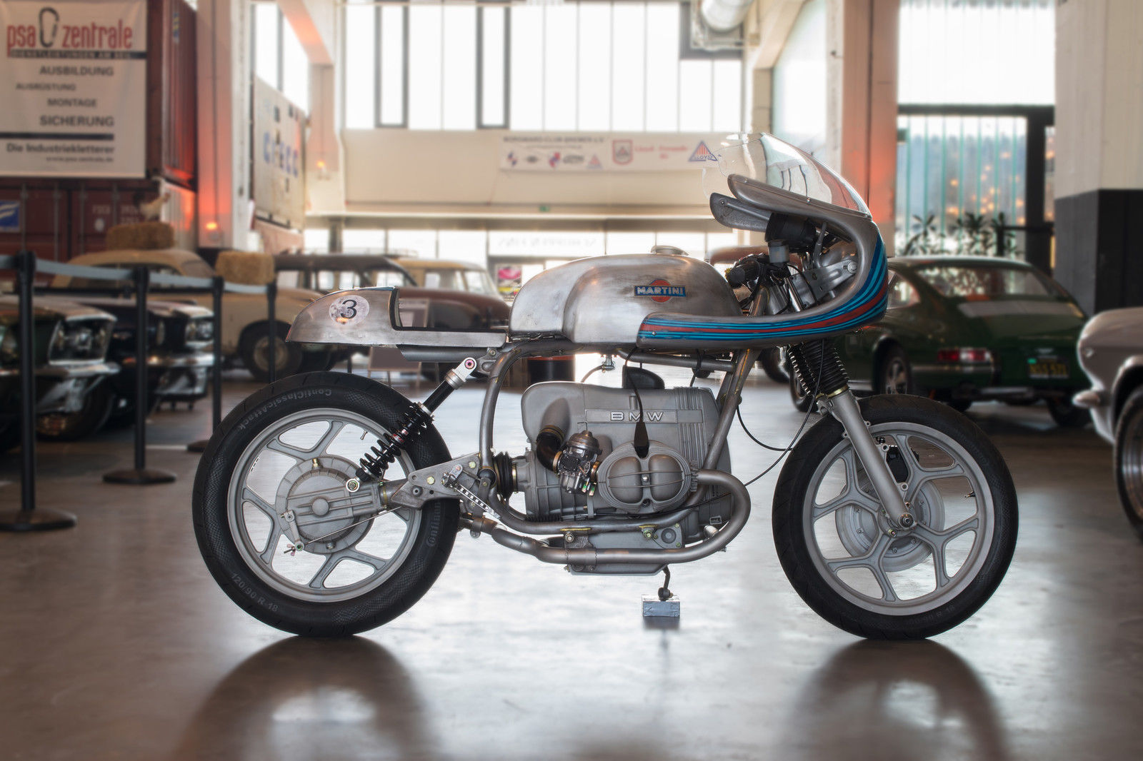 BMW MARTINI RACER by PICHEL BIKES