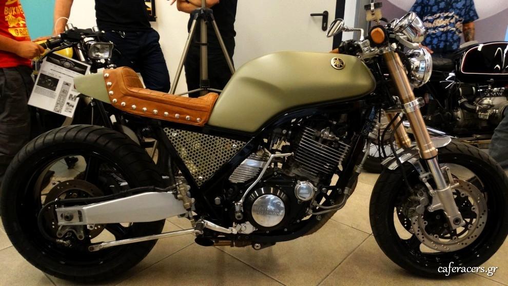 Yamaha SRX 600 cafe racer