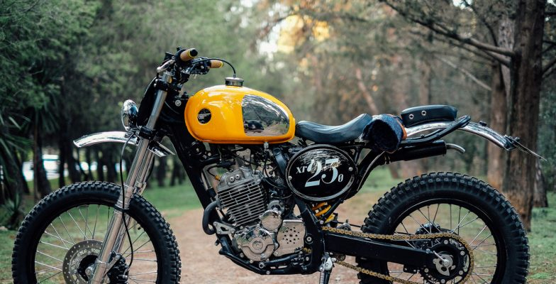 Urban Mechanics XR250 scrambler
