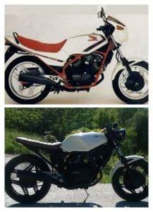 HONDA VT250F 1986 cafe racer