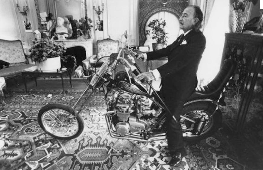 Salvador Dalí & Honda CB750!